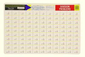 Melissa & Doug Division Problems Write-A-Mat - Bundle of 6