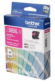 Brother LC565XLM Ink Cartridge - Magenta