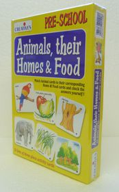 Creatives Toys Animals Homes & What They Eat