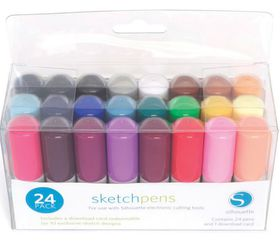 Silhouette CAMEO Sketch Pen Starter Kit - 24 Colours