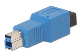 Lindy 71254 A Female to B Male USB 3.0 Adapter