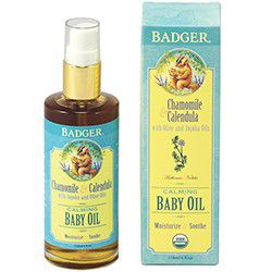 Badger Baby Oil - Organic