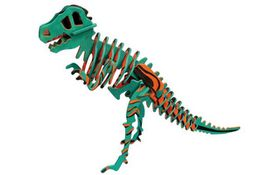 Robotime 3D Wooden Puzzle With Paints - T-Rex