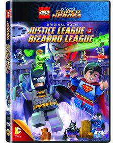 Lego: DC Justice League Vs Bizarro (DVD)