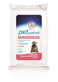 Sentry Petrodex - Dog Grooming Wipes - 10's