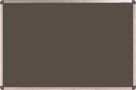 Nobo Elipse Felt Notice Board 450mm x 600mm - Grey