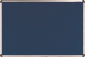Nobo Elipse Felt Notice Board 900mm x 1200mm - Blue