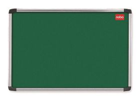 Nobo Elipse Felt Notice Board 900mm x 1200mm - Green
