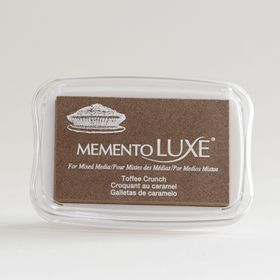 Tsukineko Memento LUXE Ink Pad - Toffee Crunch