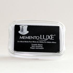 Tsukineko Memento LUXE Ink Pad - Tuxedo Black