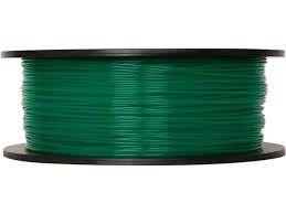 MarkerBot Large Translucent Green PLA Filament