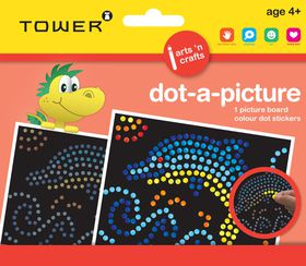 Tower Kids Dot-A-Picture - Dolphin