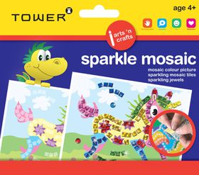Tower Kids Sparkle Mosaic - Unicorn