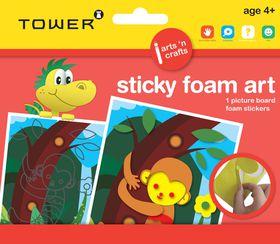 Tower Kids Sticky Foam Art - Monkey