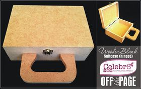 Celebr8 Off The Page - Mini Suitcase (180 x 125 x 63mm)
