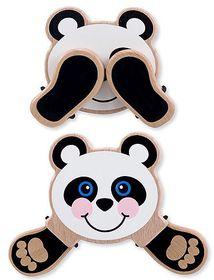 Melissa & Doug Peek-A-Boo Panda Wooden