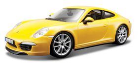 Bburago 1/24 Porsche 911 Carrera S - Yellow