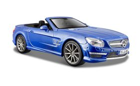 Maisto 1/24 Mercedes-Benz SL63 AMG Convertible 2012 - Blue
