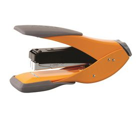 Rexel Easy Touch Half Strip Metal Stapler - Orange