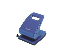 Rexel V240 2 Hole Heavy Duty Punch - Blue