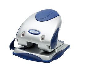 Rexel P225 2 Hole Punch - Silver/Blue