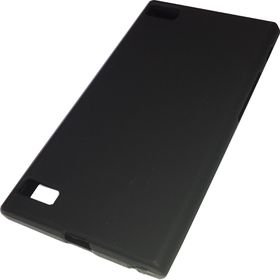 SoftCase TPU Case for Blackberry Z3 - Black