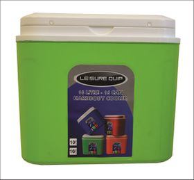 LeisureQuip - 10 Litre Hardbody Cooler - Green