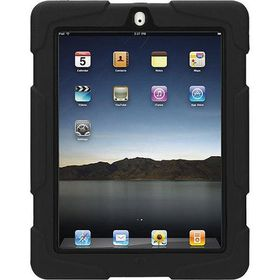 Griffin Survivor All Terrain Cover for iPad 2; 3 and 4 - Black
