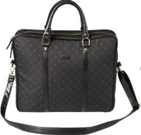Eco Ladies Executive Laptop Bag - Black Patterned