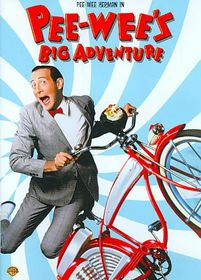 Pee Wee's Big Adventure - (Region 1 Import DVD)