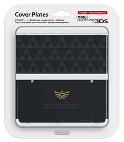 Cover Plate - Zelda Triforce (NEW 3DS)