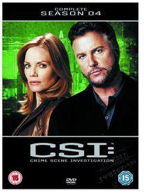 CSI Vegas: Crime Scene Investigation Complete Season 4 (DVD)