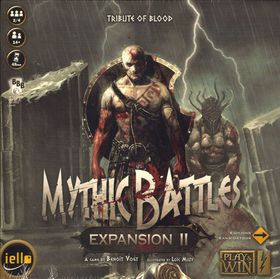 Mythic Battles Tribute To Blood Board Game