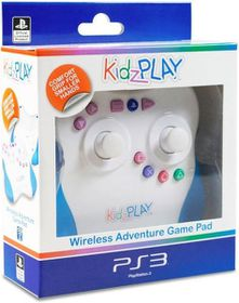 KidzPLAY Wireless Adventure Game Pad - Blue (PS3)