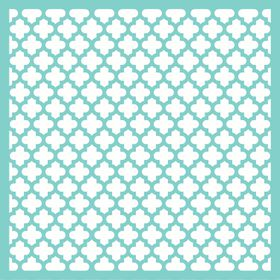 KaiserCraft 12x12 Template - Moroccan Lattice
