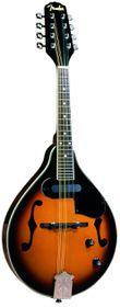 Fender FM-52E Mandolin with Pickup - Sunburst