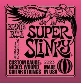 Ernie Ball 2223 Super Slinky Nickel Wound Set (09 - 42)