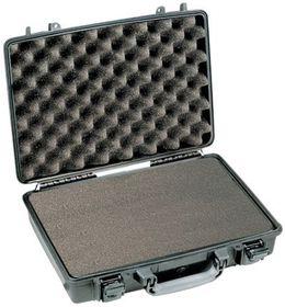 Pelican 1490 Attache Case With Foam - Black