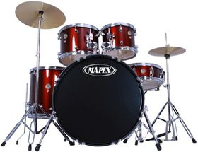 Mapex Prodigy 5pc Fusion Drumkit - Red (Including Hardware)