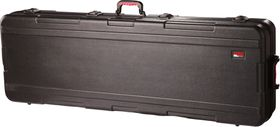 Gator GKPE-76-TSA ATA Molded PE Case for 76 Note Keyboard with Wheels