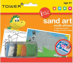 Tower Kids Sand Art South African - Rhino