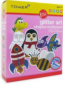 Tower Kids Multipack - Glitter Art Shaped