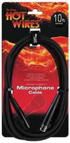 On Stage MC12-10 Hot Wires Microphone Cable - 3m