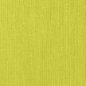 American Crafts Cardstock 12x12 Textured - Limeade