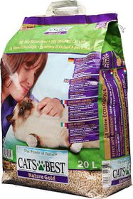 Cat's Best - Nature Gold - 10kg - 20 Litre Clumping Cat Litter