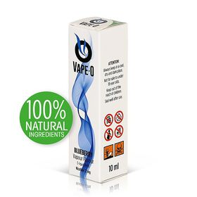 Vape-O Nicotine Refill Liquid - Blueberry Flavour - 12mg