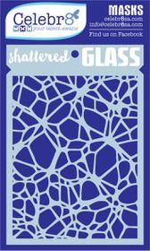 Celebr8 Mask - Shattered Glass