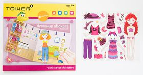 Tower Kids Dress-up Stickers - Fashion Red
