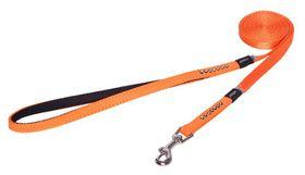 Rogz Lapz 8mm Extra Small Luna Fixed Long Dog Lead - Orange