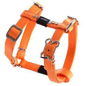 Rogz Lapz 13mm Small Luna Adjustable Dog H-Harness - Orange